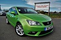 2014 SEAT IBIZA 1.4 TOCA 3DR 85 BHP £6495.00
