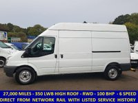 2011 FORD TRANSIT 100 350 LWB HIGH ROOF WITH ONLY 27,000 MILES  £7495.00