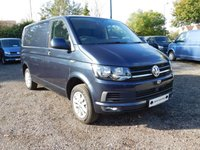 USED 2018 18 VOLKSWAGEN TRANSPORTER T28 TDI HIGHLINE SWB 150 DSG (AUTO) GEARBOX BLUEMOTION EURO 6 Sat Nav (Discovery Media), Glazed Tailgate, Heated Rear Window, Rear Wash Wipe.