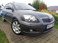 USED 2007 07 TOYOTA AVENSIS 2.0 T4 VVT-I 5d 145 BHP **Low Mileage Full Toyota Service History 8 Services 12 Months Mot**