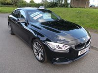 USED 2015 15 BMW 4 SERIES 418d SPORT GRAN COUPE 2.0lt++STUNNING CAR IN BLACK BIG SPEC++ 418d SPORT GRAN COUPE 2.0lt++STUNNING CAR IN BLACK BIG SPEC++