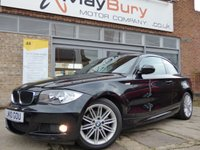 2010 BMW 1 SERIES 2.0 120D M SPORT 2d AUTO 175 BHP £6495.00