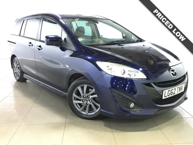 View our 2012 62 MAZDA MAZDA 5 1.6 VENTURE EDITION D 5d 113 BHP