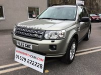 USED 2012 X LAND ROVER FREELANDER 2.2 TD4 XS 5d 150 BHP *F.S.H**RECENT CLUTCH & FLYWHEEL**SAT NAV**TOW BAR*