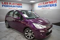 USED 2015 65 CITROEN C3 1.2 SELECTION 5d 80 BHP Cheap Road Tax, 1 Owner, Great MPG, Bluetooth, Cruise control