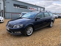 USED 2014 14 VOLKSWAGEN PASSAT 1.6 EXECUTIVE TDI BLUEMOTION TECHNOLOGY 5d 104 BHP