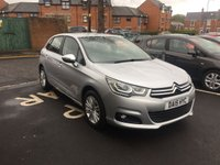 USED 2015 15 CITROEN C4 1.6 BLUEHDI FLAIR S/S 5d 118 BHP CHEAP TO RUN, LOW CO2 EMISSIONS, £0 ROAD TAX AND EXCELLENT FUEL ECONOMY!..GOOD SPECIFICATION INCLUDING CLIMATE CONTROL, PARKING SENSORS, AND ALLOY WHEELS!  ONLY 12925 MILES AND FULL HISTORY!