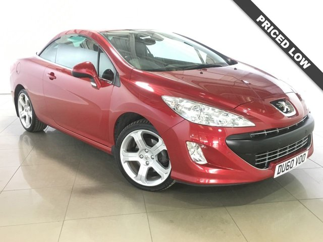 View our 2010 60 PEUGEOT 308 2.0 CC GT HDI 2d 140 BHP