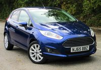USED 2015 65 FORD FIESTA 1.6 TITANIUM 5d AUTO 104 BHP Low Mileage - One Owner
