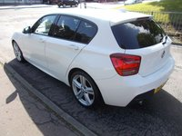 USED 2012 12 BMW 1 SERIES 2.0 116D M SPORT AUTO ++ONLY £30 PER YEAR TAX++ 2.0 116D M SPORT AUTO ++ONLY £30 PER YEAR TAX++