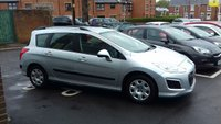 USED 2012 62 PEUGEOT 308 SW 1.6 HDI 92BHP ACCESS ESTATE  ESTATE THAT IS CHEAP TO RUN, LOW CO2 EMISSIONS, £30 ROAD TAX AND EXCELLENT FUEL ECONOMY! GOOD SPECIFICATION INCLUDING AIR CONDITIONING, REMOTE CENTRAL LOCKING AND ELECTRIC WINDOWS! ONLY 23228 MILES AND 4 SERVICES FROM PEUGEOT!