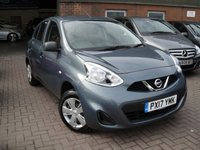 USED 2017 17 NISSAN MICRA 1.2 VISIA 5d 79 BHP ANY PART EXCHANGE WELCOME, COUNTRY WIDE DELIVERY ARRANGED, HUGE SPEC