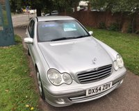 USED 2004 54 MERCEDES-BENZ C CLASS 1.8 C200 KOMPRESSOR AVANTGARDE SE 4d AUTO 163 BHP LOTS OF SERVICE HISTORY:
