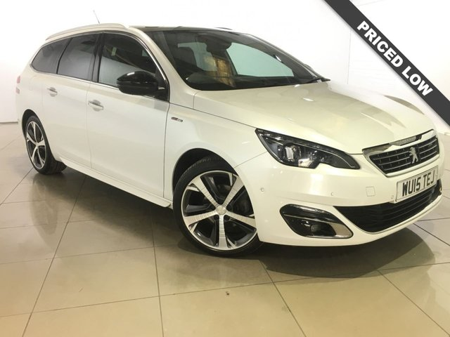 View our 2015 15 PEUGEOT 308 1.6 HDI S/S SW GT LINE 5d 115 BHP
