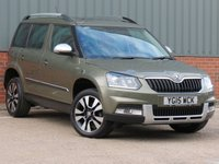 USED 2015 15 SKODA YETI 2.0 OUTDOOR LAURIN AND KLEMENT TDI CR DSG 5d AUTO 138 BHP SOUGHT AFTER 4X4 MODEL