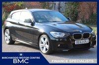 2013 BMW 1 SERIES 2.0 116D M SPORT 3d 114 BHP £10995.00