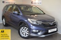 USED 2018 HONDA CR-V 2.0 I-VTEC SE DASP 4x4 Nav (Honda Connect with Navi) Immaculate - One Private Owner - Full Honda Service History - Satellite Navigation - 4 Wheel Drive - 12 Month MOT - Warranty - Alloy Wheels - Air Conditioning - Must Be Seen