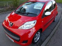 USED 2011 61 PEUGEOT 107 1.0 SPORTIUM  SPORTIUM++LOW MILEAGE WITH 7 SERVICE STAMP HISTORY £20 ROAD TAX++