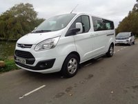 USED 2016 66 FORD TOURNEO CUSTOM 2.0 310 TITANIUM TDCI 5d 129 BHP