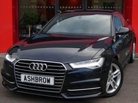 USED 2015 65 AUDI A6 SALOON 2.0 TDI ULTRA S LINE 4d AUTO 190 S/S £20 TAX, UPGRADE HEATED FRONT SEATS, 1 OWNER FROM NEW, FULL AUDI SERVICE HISTORY, NEW SHAPE, SAT NAV, FULL BLACK LEATHER, DAB,, BLUETOOTH PHONE & MUSIC STREAMING, AUDI MUSIC INTERFACE FOR IPOD / USB DEVICES (AMI), FRONT & REAR PARKING SENSORS W/ DISPLAY, LED LIGHTS W/ DRL, 18 INCH TWIN 5 SPOKE ALLOYS, CRUISE, SPORT SEATS W/ ELECTRIC LUMBAR SUPPORT, LIGHT & RAIN SENSORS W/ AUTO DIMMING REAR VIEW, AUTO HOLD, LEATHER MULTIFUNCTION STEERING WHEEL, 4 ZONE CLIMATE CONTROL,AUDI DRIVE SELECT, VAT Q