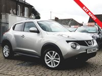 USED 2012 62 NISSAN JUKE 1.5 TEKNA DCI 5d 110 BHP PRICE INCLUDES A 6 MONTH RAC WARRANTY, 1 YEARS MOT WITH 12 MONTHS FREE BREAKDOWN COVER