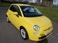USED 2010 10 FIAT 500 1.2 S  ++ £30 ROAD TAX+SERVICE HISTORY+12 MONTHS FREE AA BREAKDOWN COVER++