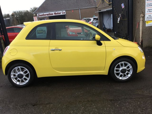 USED 2010 10 FIAT 500 1.2 S  ++ £30 ROAD TAX+SERVICE HISTORY+12 MONTHS AA BREAKDOWN COVER++