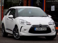 USED 2015 65 DS DS 3 1.2 PURETECH DSTYLE NAV 3dr (110) ** Sat Nav + Bluetooth + Cruise **