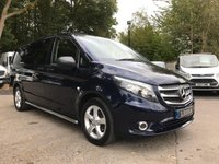 USED 2016 66 MERCEDES-BENZ VITO 2.1 116 BLUETEC SPORT DUALINER LWB Reverse Camera, Air Conditioning, One Owner
