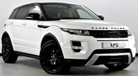USED 2012 12 LAND ROVER RANGE ROVER EVOQUE 2.2 SD4 Dynamic AWD 5dr Auto Pan Roof, Black Pack, Camera +