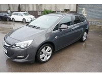 USED 2014 64 VAUXHALL ASTRA 2.0 SRI CDTI S/S 5d 163 BHP ESTATE
