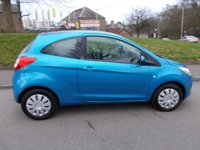 USED 2012 62 FORD KA 1.2 EDGE 3d 69 BHP ++LOW MILEAGE CAR COMES WITH A FREE 12 MONTHS AA BREAKDOWN COVER++
