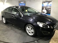 USED 2012 12 VOLVO S60 2.0 D3 SE LUX 4d 134 BHP Only £30 a year road tax   :   Bluetooth   :  Full leather upholstery       :       Heated front seats       :       Electric/Memory driver's seat      :  Rear parking sensors    :    Fully stamped service history