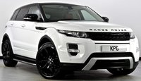 USED 2012 12 LAND ROVER RANGE ROVER EVOQUE 2.2 SD4 Dynamic Lux AWD 5dr Auto Rear DVD's, Surround Cams, TV