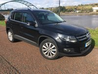 2015 VOLKSWAGEN TIGUAN 2.0 MATCH TDI BLUEMOTION TECHNOLOGY 5d 139 BHP £10990.00