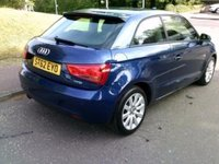 USED 2012 62 AUDI A1 1.2 TFSI SPORT ++LOW MILEAGE CAR COMES WITH A FREE 12 MONTHS AA BREAKDOWN COVER++