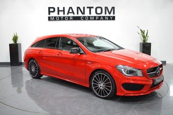 2015 MERCEDES-BENZ CLA 2.0 CLA250 4MATIC ENGINEERED BY AMG 5d AUTO 208 BHP £22490.00