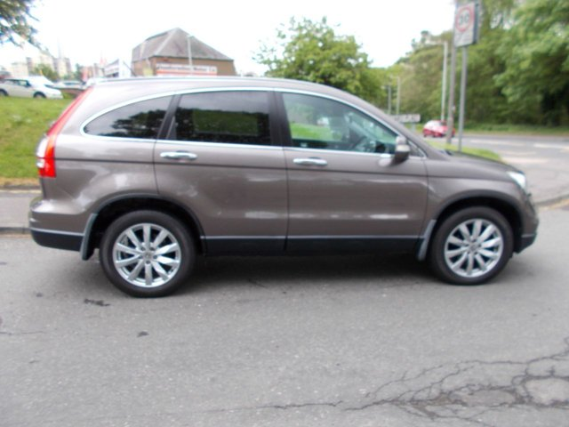USED 2010 10 HONDA CR-V 2.2 I-DTEC ES-T ++HIGH SPEC + 12 MONTHS AA BREAKDOWN COVER++