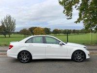 2013 MERCEDES-BENZ C CLASS 1.6 C180 BLUEEFFICIENCY AMG SPORT PLUS 4d AUTO 155 BHP £12495.00