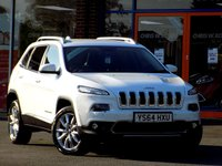 USED 2014 64 JEEP CHEROKEE 2.0 M-JET LIMITED 5dr 4WD (140)  ** Sat Nav + Leather + Rear Cam **