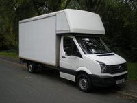 2012 VOLKSWAGEN CRAFTER 2.0 CR35 TDI 1d 107 BHP LUTON BOX VAN WITH TAIL LIFT £9995.00