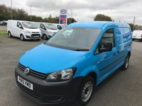 2013 VOLKSWAGEN CADDY MAXI  C20 1.6 TDi 102 LWB  £SOLD