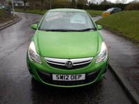 USED 2012 12 VAUXHALL CORSA 1.2 ACTIVE 5d 83 BHP ++SERVICE HISTORY+CAR COMES WITH A FREE 12 MONTHS AA BREAKDOWN COVER++
