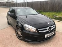 2013 MERCEDES-BENZ A CLASS 1.5 A180 CDI BLUEEFFICIENCY AMG SPORT 5d 109 BHP £12995.00