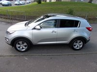 USED 2010 60 KIA SPORTAGE 2.0 KX-2++GLASS PAN ROOF 6 SERVICE STAMP HISTORY++ ++1 OWNER FROM NEW++