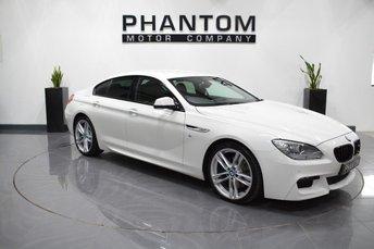 2014 BMW 6 SERIES 3.0 640D M SPORT GRAN COUPE 4d AUTO 309 BHP £23490.00