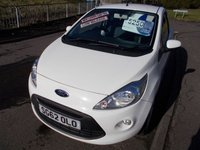 USED 2012 62 FORD KA 1.2 TITANIUM 3d 69 BHP ++LOW INSURANCE+SERVICE HISTORY+12 AA BREAKDOWN COVER++