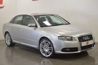 USED 2006 56 AUDI S4 4.2 QUATTRO 4d 340 BHP FULL S4 SPEC WITH BLACK RECARO LEATHER + SAT NAV