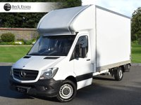 USED 2015 65 MERCEDES-BENZ SPRINTER 2.1 313 CDI 1d 129 BHP LUTON LUTON BODY