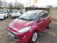 USED 2010 10 FORD KA 1.2 Zetec 3dr 3 Month Warranty / 1 Year MOT